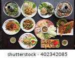 thai food on the table | Shutterstock . vector #402342085