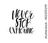 conceptual handdrawn phrase... | Shutterstock .eps vector #402355195