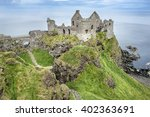 northern ireland  near portrush ... | Shutterstock . vector #402363691