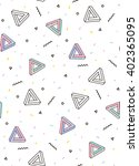 modern pattern with triangle... | Shutterstock .eps vector #402365095