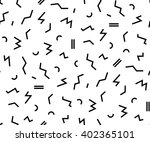 vector pattern with black and... | Shutterstock .eps vector #402365101