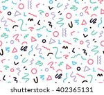 bright pattern in the style of... | Shutterstock .eps vector #402365131