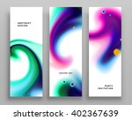 set of templates with... | Shutterstock .eps vector #402367639