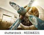old airplane | Shutterstock . vector #402368221