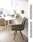modern interior. comfortable... | Shutterstock . vector #402369061