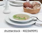 Mushrooms Cream Soup With...