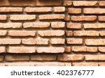 old brick wall in old tbilisi... | Shutterstock . vector #402376777