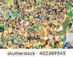 sao paulo  brazil   march 13 ... | Shutterstock . vector #402389545