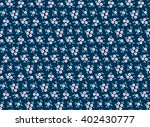 cute pattern in small flower.... | Shutterstock .eps vector #402430777