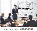 marketing business commercial...   Shutterstock . vector #402434839