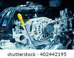 the car engine  engine   car... | Shutterstock . vector #402442195