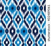 seamless pattern tribal art ... | Shutterstock .eps vector #402489061