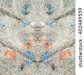 dirty stain concrete floor... | Shutterstock . vector #402489559