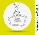 students back to school design    Shutterstock .eps vector #402502171