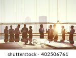 business people planning... | Shutterstock . vector #402506761