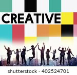 creative ideas imagination... | Shutterstock . vector #402524701