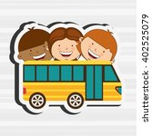 students back to school design  | Shutterstock .eps vector #402525079