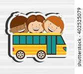 students back to school design    Shutterstock .eps vector #402525079