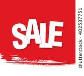 sale banner template design | Shutterstock .eps vector #402537751