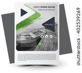 flyer brochure design  flyer... | Shutterstock .eps vector #402539269