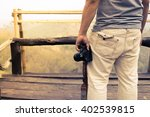 nature photographer taking... | Shutterstock . vector #402539815
