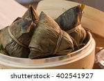 asian chinese rice dumplings or ... | Shutterstock . vector #402541927
