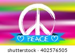 peace. | Shutterstock .eps vector #402576505