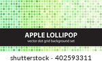 apple lollipop. abstract dot... | Shutterstock .eps vector #402593311