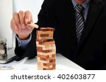 planning  risk and strategy in... | Shutterstock . vector #402603877