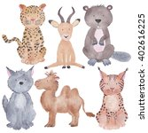 Woodland And Safari Animals...
