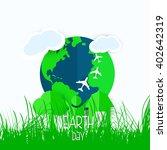 earth day  | Shutterstock .eps vector #402642319