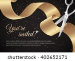 you are invited invitation card ... | Shutterstock .eps vector #402652171