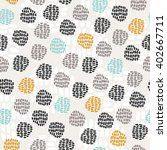 seamless hand drawn pattern | Shutterstock .eps vector #402667711