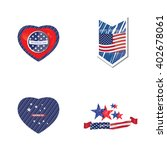 set of badges and different... | Shutterstock .eps vector #402678061