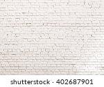 white grunge brick wall...   Shutterstock . vector #402687901