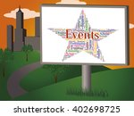 events star meaning affairs... | Shutterstock . vector #402698725