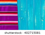 traditional colorful table... | Shutterstock . vector #402715081