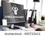 stress management tension... | Shutterstock . vector #402722611