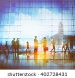 business people meeting... | Shutterstock . vector #402728431