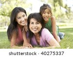 grandmother with daughter and... | Shutterstock . vector #40275337