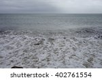 beach in the south of england... | Shutterstock . vector #402761554