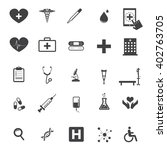 set of medical icons | Shutterstock .eps vector #402763705