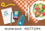 food  diet  healthy lifestyle... | Shutterstock .eps vector #402771094