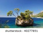 brela  croatia  average dalmatia   Shutterstock . vector #40277851