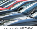 row of cars | Shutterstock . vector #402784165