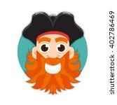 pirate logo   Shutterstock .eps vector #402786469