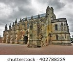 Rosslyn Chapel In A Rainy Day