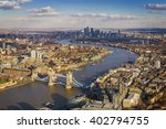 London Aerial Skyline View...