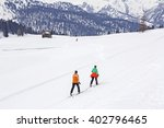 Cross Country Skiing In Nature...