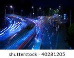 night city traffic | Shutterstock . vector #40281205
